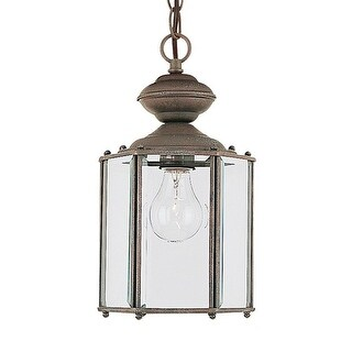 Sea Gull Lighting 6008-26 Classico 1- Light Outdoor Pendant Sienna Finish - sienna finish