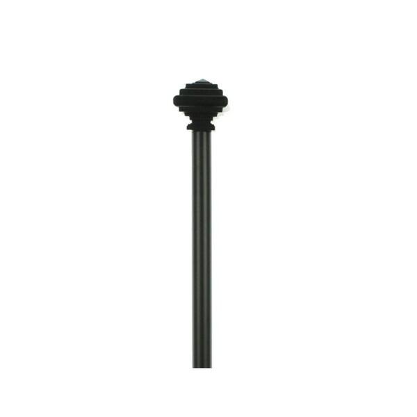 Shop Umbra Curtain Rod & Finials Set Drapery Extra Long