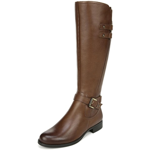Naturalizer Womens Jackie Riding Boots Leather Knee-High
