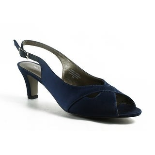ab2f523c4e0 Shop David Tate Womens Palm-410 Navy Ankle Strap Heels Size 7 (A