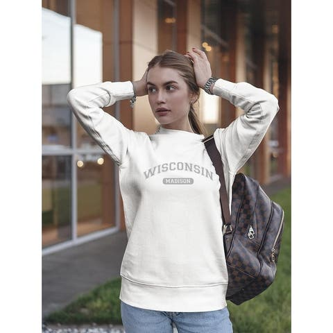 Wisconsin Madison, Women's Sweatshirt