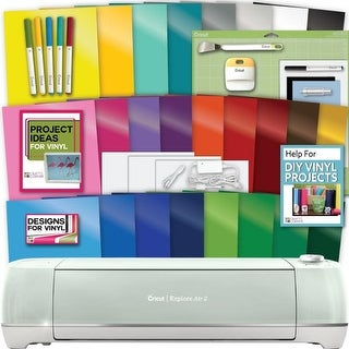 Cricut Explore Air 2 Machine Bundle - Tools Pens Vinyl Pack Designs Inspiration