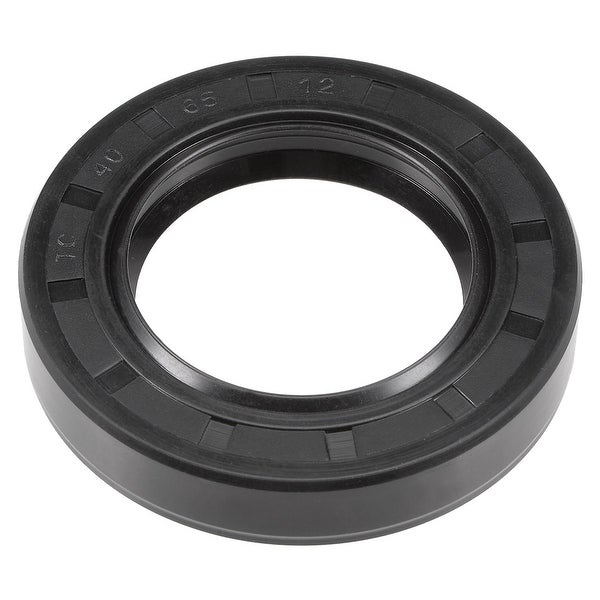 Oil Seal, TC 40mm x 65mm x 12mm, Nitrile Rubber Cover Double Lip - 40mmx65mmx12mm