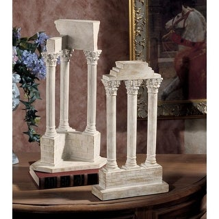 Design Toscano Roman Forum Columns Set