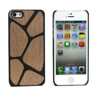 JAVOedge Wood Pattern Back Cover for the Apple iPhone 5 - Brown