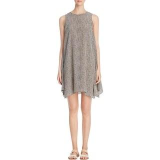 Eileen Fisher Womens Casual Dress Silk Sleeveless
