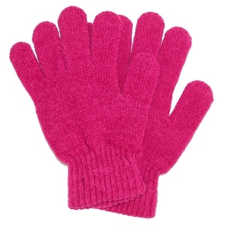 Grand Sierra Women's Ribbed Chenille Stretch Glove - One size