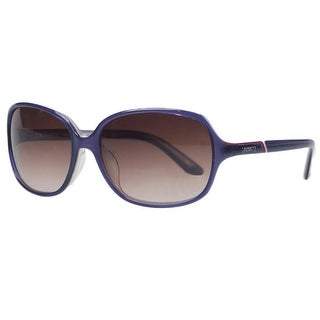 Lacoste L 656S 516 Lavender Rectangular Sunglasses