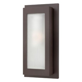"Hinkley Lighting 2054-GU24 17.5"" Height 1 Light Fluorescent Outdoor Wall Sconce from the Titan Collection"