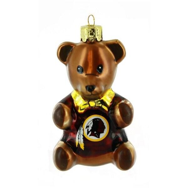 NFL Washington Redskins Teddy Bear Ornament