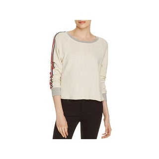 Splendid Womens Rugby Sweatshirt Striped Crew Neck (3 options available)