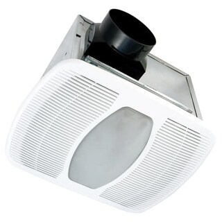 Air King LEDAK80H 80 CFM 1.0 Sone Ceiling Mounted LED Lit Humidity Sensing Exhau