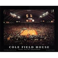 ''Cole Field House, University of Maryland'' by Mike Smith Sports/Games Art Print (22 x 28 in.)
