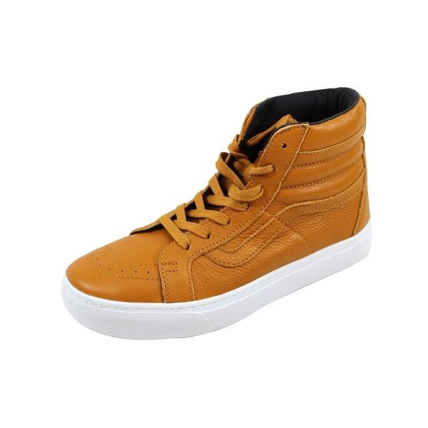 Vans Men's SK8 Hi Cup Gold Leather VN0A2Z5XJYQ