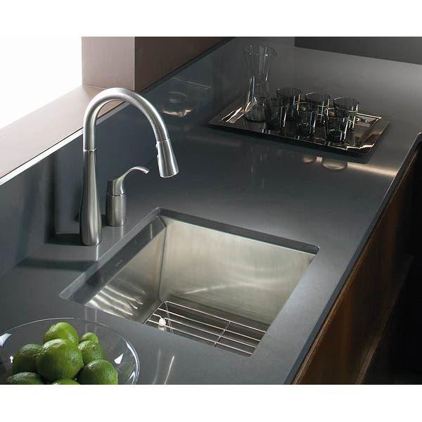 Kohler K 649 Simplice Pullout Spray Kitchen Bar Faucet With Detached Handle