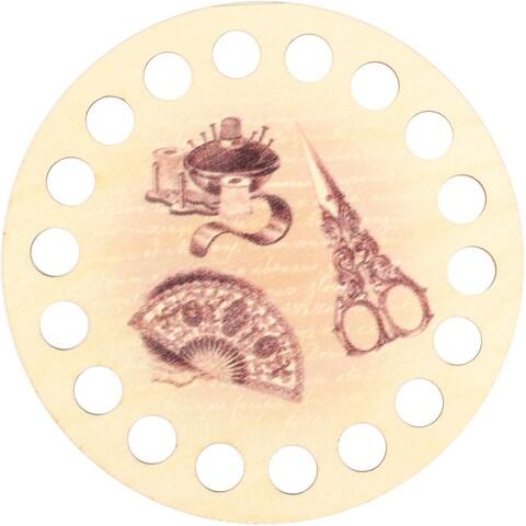Buratini Thread Organizer 13Cm-Fan & Scissors