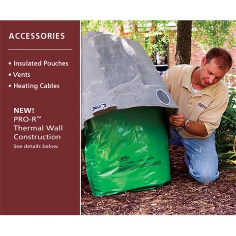 DekoRRa 603-GN - Insulated Pouch - Green Turf - 48 X 24 Inches