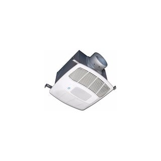 Air King EF130DGH Energy Star HVI Certified 130 CFM 3.0 Sone Humidity Sensing Exhaust Fan with Motion Light and Dual Boost