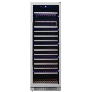 "Avallon AWC242TSZRH  24"" Wide 151 Bottle Capacity Built-In or Free Standing Single Zone Wine Cooler with Interior Lighting"