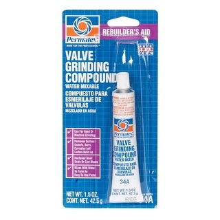 Permatex 80036 Valve Grinding Compound, 1.5 Oz, Grey