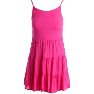 Aqua Girls Scoop Neck Casual Dress