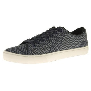 Steve Madden Mens Moirai Fashion Sneakers Woven Chevron