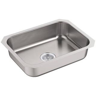 """Sterling 24738 McAllister 24"""" Single Basin 18 Gauge Undermount Kitchen Sink"""