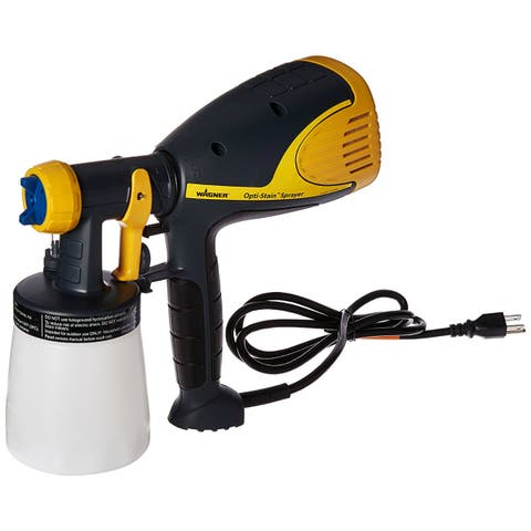 Wagner 0529015 Opti-Stain Plus Stain Sprayer for Staining Projects, 1 Qt