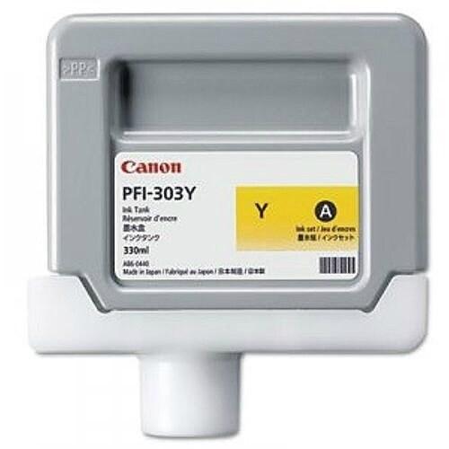 """""""Canon PFI-303Y Ink Cartridge - Yellow Ink Cartridge"""""""