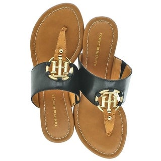 Tommy Hilfiger Sia Women's T-Strap Thong Sandals