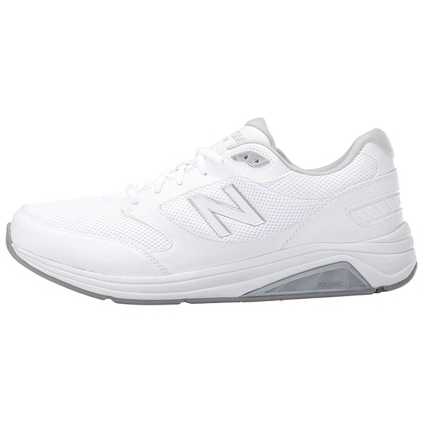 c84e1ac53e8b5 Shop New Balance Mens MW928WT2 Leather Low Top Lace Up Walking Shoes ...