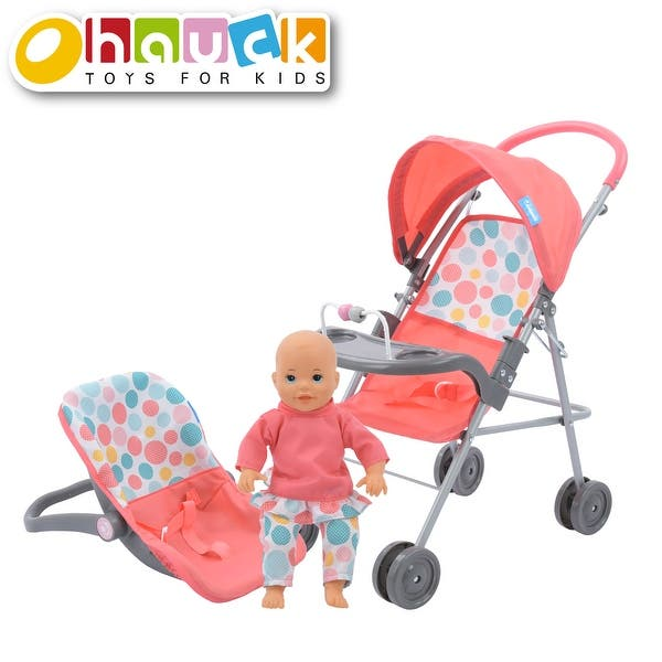 Shop Hauck 14 Toy Baby Doll Travel System Car Seat Stroller