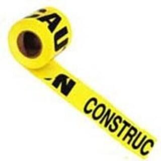 """Irwin 66211 Vinyl Caution Tape, 1000' X3"""", Yellow"""