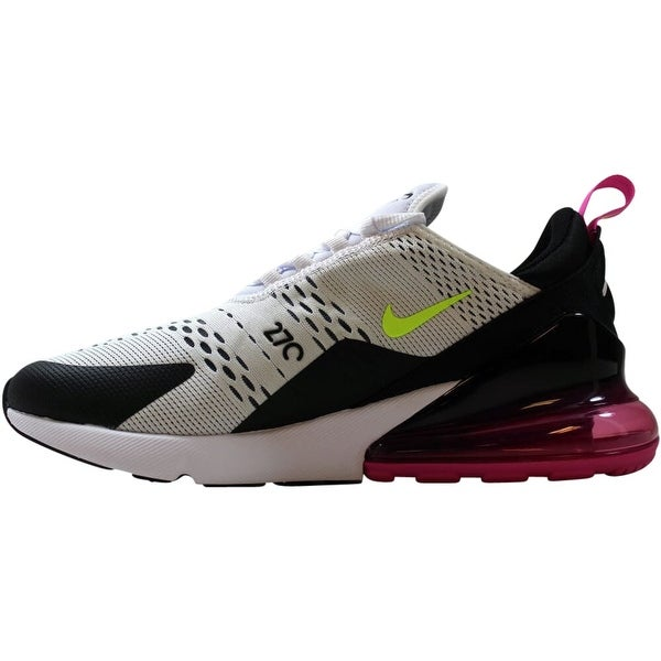 Shop Nike Air Max 270 WhiteVolt Black Laser Fuchsia AH8050