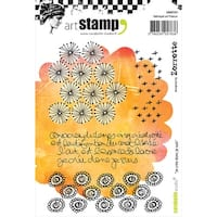 Carabelle Studio Cling Stamp A6-I Create So I Am