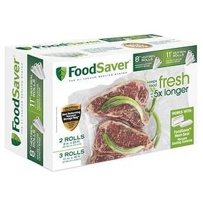 FoodSaver FSFSBF0746-P00 Multi-Pack Vacuum Sealing Rolls