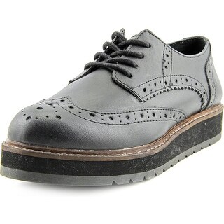 Steve Madden Tracey Round Toe Synthetic Oxford