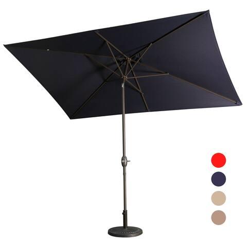 10'x 6.5' rectangular Outdoor Umbrella
