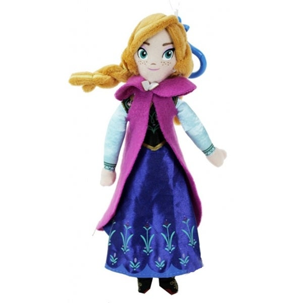 "Frozen 6"" Plush Coin Purse- Anna - Purple"