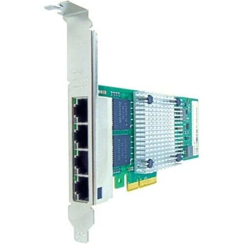 """Axiom PCIe 1Gbs Quad Port Copper Network Adapter for Intel Quad Port Fiber Network Adapter"""