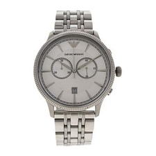 Emporio Armani Ar1796 Chronograph Stainless Steel Bracelet Watch Watch For Men