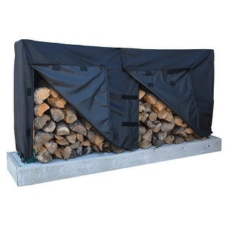 Dallas Manufacturing Co. 600D Log Rack Storage Cover - Model 8'