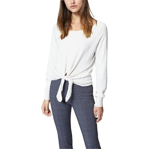 Sanctuary Clothing Womens Tie Front Pullover Sweater