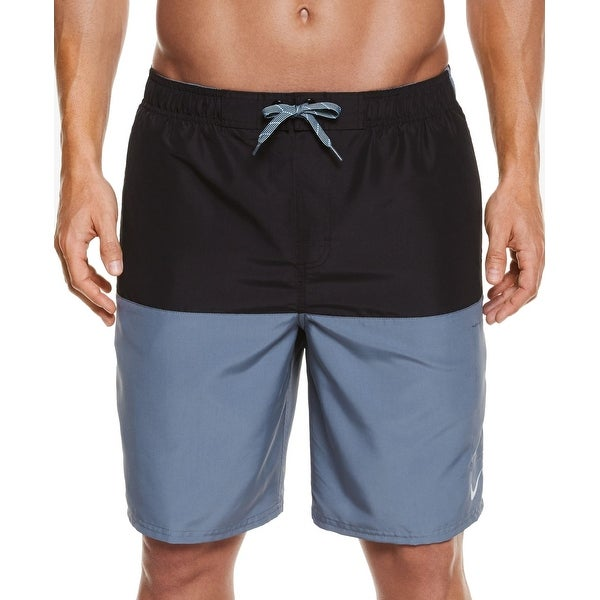 6f5bf8deb5 Shop Nike NEW Black Blue Mens Size Medium M Colorblock Board Surf Shorts -  Free Shipping On Orders Over $45 - Overstock - 20831696