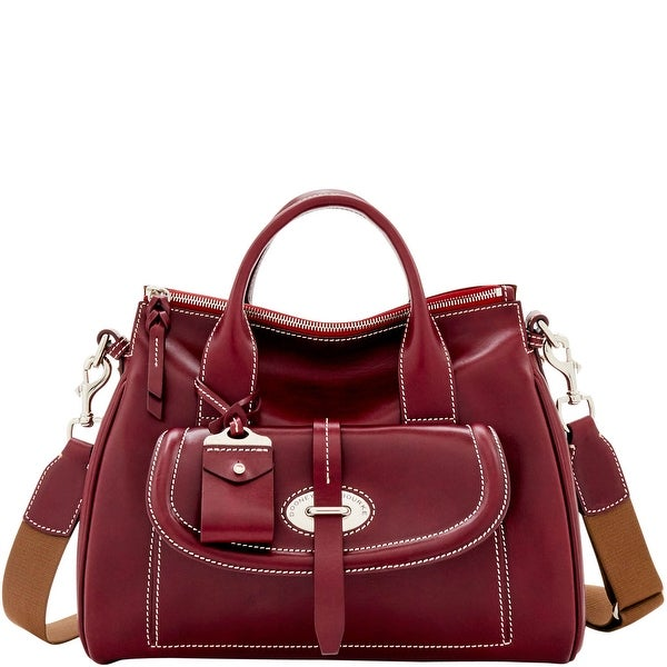 Dooney & Bourke Florentine Toscana Front Pocket Satchel (Introduced by Dooney & Bourke at $568 in Aug 2017)