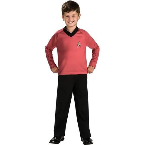 Star Trek Scotty Costume Child - Red