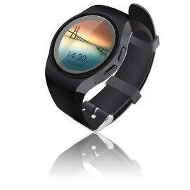 Indigi® A18 Premier SmartWatch & Phone - Android OS + Pedometer + Heart Monitor + Remote Shutter (3G Factory Unlocked)