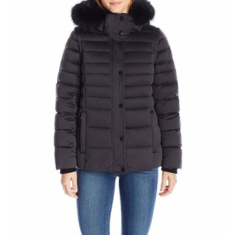 Andrew Marc Women's Jacket Black Size XS Puffer Convertible Down Vest