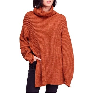 Link to Free People Womens Eleven Turtleneck Knit Sweater Similar Items in Women's Sweaters