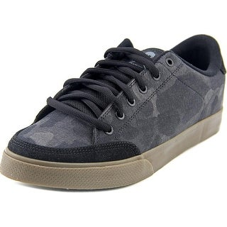 Circa Lopez 50 Youth Round Toe Canvas Black Skate Shoe